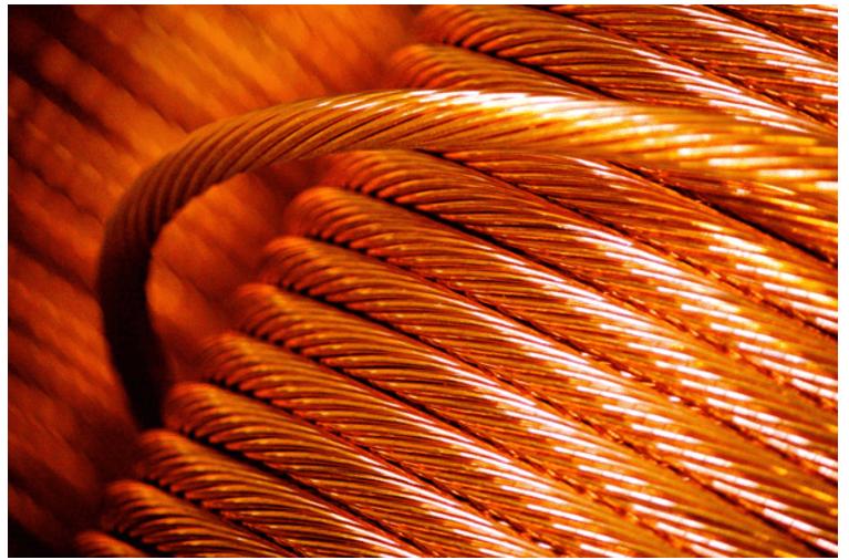 cabo de cobre nu 35mm normatizado 1 - Cabo de Cobre Nu para Aterramento