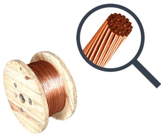 cabo de cobre nu para aterramento 1 - Distribuidor de Cabo de Cobre Nu