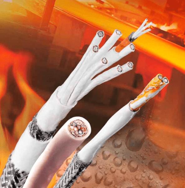 cabo de silicone com fibra de vidro 200 graus - Cabo para Alta Temperatura
