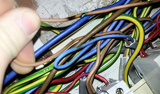 cabos eletricos